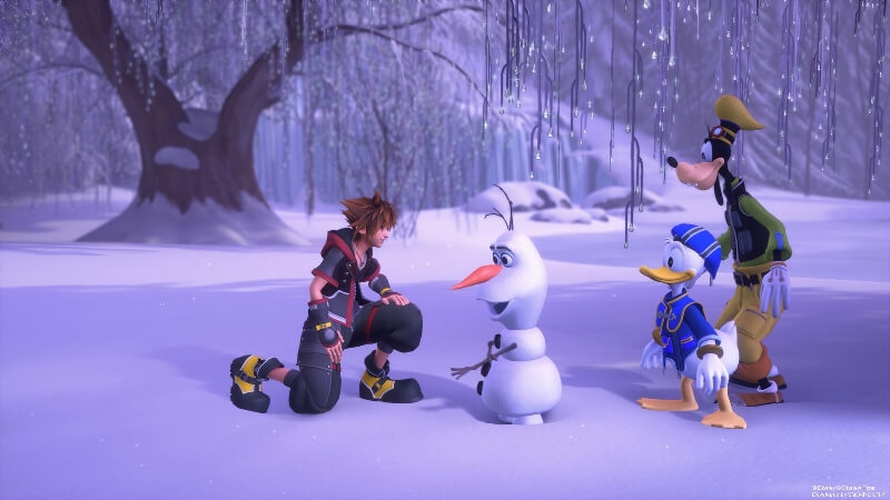 игра года Kingdom Hearts 3